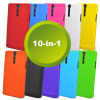 10-in-1 Silicone Case Pack for Sony Xperia S