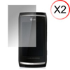 Martin Fields Screen Protector - LG GC900 Viewty Smart - Twin Pack