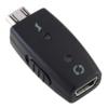 Mini USB zu Micro USB Adapter mit ein/aus Schalter