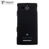 Metal-Slim Graphite Style Case for the Sony Xperia U - Grey