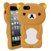 Teddybeer Siliconen Case iPhone 5