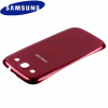Genuine Samsung Galaxy S3 Battery Cover - Garnet Red