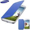 Genuine Samsung Galaxy S4 Flip Case Fodral - Ljusblå