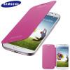 Genuine Samsung Galaxy S4 Flip Case Cover - Pink