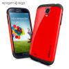 Spigen SGP Slim Armour Case for Samsung Galaxy S4 - Red