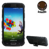 ArmourDillo Hybrid Protective Skal for Samsung Galaxy  S4 - Svart