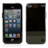 iPhone 5S / 5 Double-Layer Case Met wijde hoek Lens - Zwart