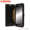 Krusell Malmo FlipCover voor Sony Xperia Z1 Compact - Zwart