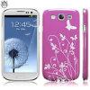 Flexishield Samsung Galaxy S3 Case - Purple Butterflies