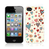 Call Candy Back Case iPhone 4S/ 4 Hülle Cross My Heart