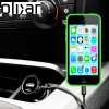 Olixar High Power iPhone 5C KFZ Ladekabel in Schwarz