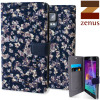 Zenus Liberty Samsung Galaxy Note 4 Diary Case - Navy Ivy