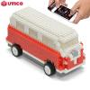 Caravana UTICO controlada por App para iOS y Android - Roja