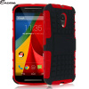 Encase ArmourDillo Moto G 2nd Gen Protective Case - Red