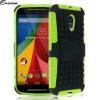Encase ArmourDillo Moto G 2nd Gen Protective Case - Green