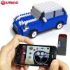 Coche Mini UTICO controlada por App para iOS y Android - Azul