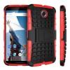 Encase ArmourDillo Hybrid Google Nexus 6 Protective Case - Red