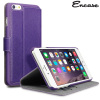 Custodia Portafoglio Encase Low Profile per iPhone 6 Plus - Viola