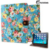 Housse iPad Air 2 Encase Flower – Bleue