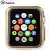 Baseus Apple Watch Hülle (38mm) in Gold/Klar