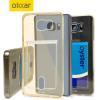 FlexiShield Slot Samsung Galaxy Note 5 Gel Case - Gold Tint