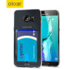 FlexiShield Slot Samsung Galaxy S6 Edge+ Gelskal - Grå