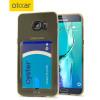 FlexiShield Slot Samsung Galaxy S6 Edge+ Gel Hülle in Gold Tint