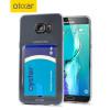 FlexiShield Slot Samsung Galaxy S6 Edge+ Gel Hülle in Kristallklar
