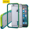 iPhone 6S Bumper Case - Olixar FlexiFrame Green