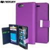 Mercury Rich Diary iPhone 6S / 6 Premium Wallet Case Tasche Lila