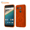 Cruzerlite Bugdroid Circuit Nexus 5X Case - Orange