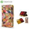 Create And Case Motorola Moto X 1st Gen Book Case - Grandma's Quilt