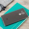 FlexiShield Huawei Mate 8 Gel Case - Smoke Zwart