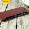 Olixar leren-stijl Samsung Galaxy S7 Edge Wallet Case - Bruin
