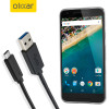 Olixar USB-C Nexus 5X Ladekabel