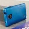 Mercury iJelly Samsung Galaxy Note 4 Gel Case - Metallic Blue