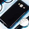 Custodia Olixar FlexiShield per Samsung Galaxy J3 2016 - Nero