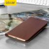 Olixar Leather-Style LG G5 Wallet Case Tasche Braun