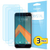 Spigen Crystal HTC 10 Screen Protectors - Three Pack