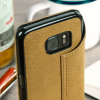 Vaja Agenda Samsung Galaxy S7 Premium Leather Case -  Tan Brown