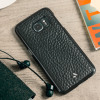 Vaja Wrap Samsung Galaxy S7 Premium Leather Case - Black