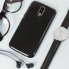 Olixar FlexiShield Moto G4 Gel Case - Solid Black