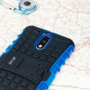 Olixar ArmourDillo Lenovo Moto G4 Protective Deksel - Blå