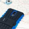 Olixar ArmourDillo Lenovo Moto G4 Plus Protective Deksel - Blå