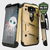 Zizo Bolt Series LG G5 Tough Case Hülle & Gürtelclip Gold