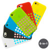 6 Pack Circle Case for Apple iPhone 5C