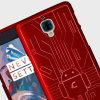 Cruzerlite Bugdroid Circuit OnePlus 3T / 3 Case - Red