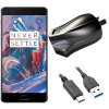 High Power 2.4A OnePlus 3T / 3 Wall Charger - Australian Mains