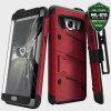 Zizo Bolt Series Galaxy Note 7 Tough Case Hülle & Gürtelclip Rot