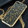 Prodigee Scene Treasure iPhone 7 Case - Gold Sparkle